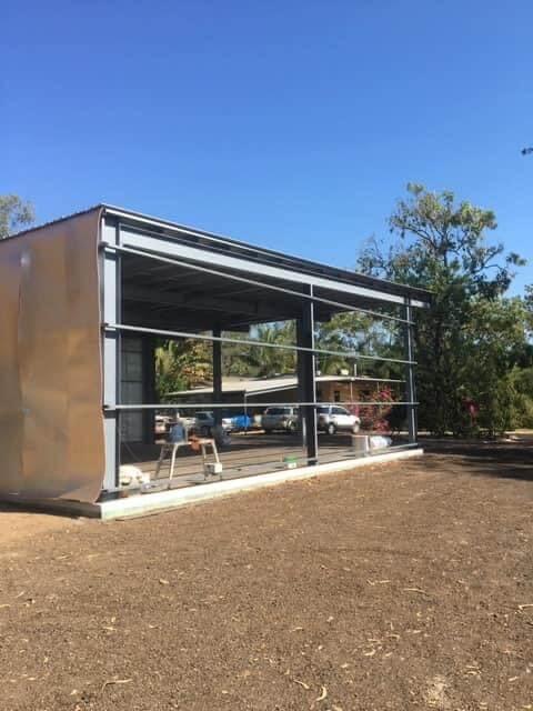 Geelong carport layout